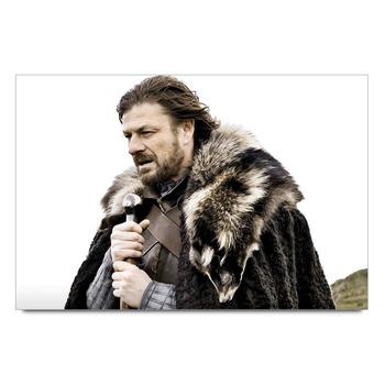 Game Of Thrones Ned Stark   Poster