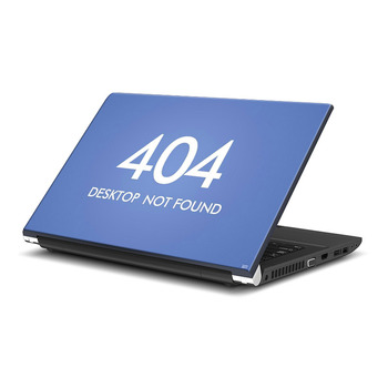 Error 404 Laptop Skin