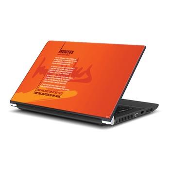 Invictus Quote Laptop Skin