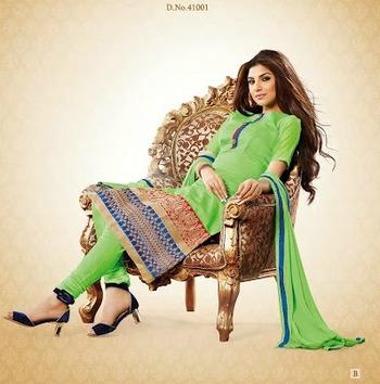 Designer Chuddidar Salwar Suit