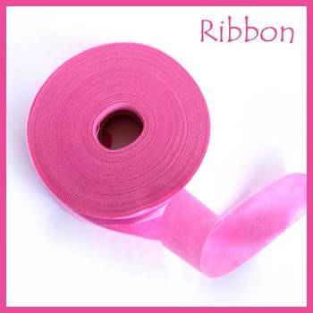 Non Woven Ribbon Dark Pink - 45 Mtrs