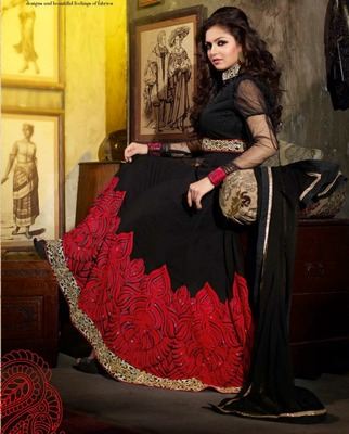 Madhubala Awesome Designer Long Anarkali Suit