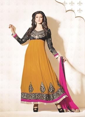 Sushmita Sen Fahionable Designer Anarkali Suit