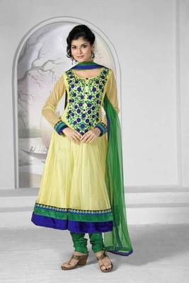 fashionable embroidery designer salwar suit