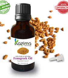 Buy Fenugreek essential oil (15ml) 100% pure natural and undiluted oil essential-oil online