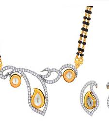 Buy Designer Kundan Zircon Mangalsutra.. mangalsutra online