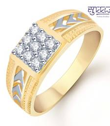 Buy Sukkhi Gold and Rhodium Plated CZ Ring for Men(106GRK450) gifts-for-husband online