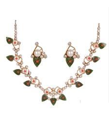 Buy Green Pearl gemstone necklaces gemstone-necklace online