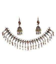 Buy Blue Cubic Zirconia gemstone necklaces gemstone-necklace online