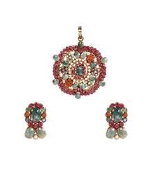 Buy Green Ruby gemstone pendants gemstone-pendant online