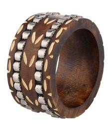 Buy Brown wooden_jewellery bangles-and-bracelets bangles-and-bracelet online