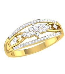 Buy 0.26ct diamond 18kt gold rings gemstone-ring online
