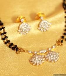 Buy Diamond Look Small pattern Mangalsutra mangalsutra online