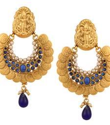 Buy Pearl sets kundan kundans earrings polki India ethnic jewellery danglers-drop online