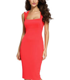 Buy Pink Polyester and Spandex sexy western wear western-wear online