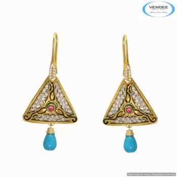 Vendee Fashion diamond earring 6674