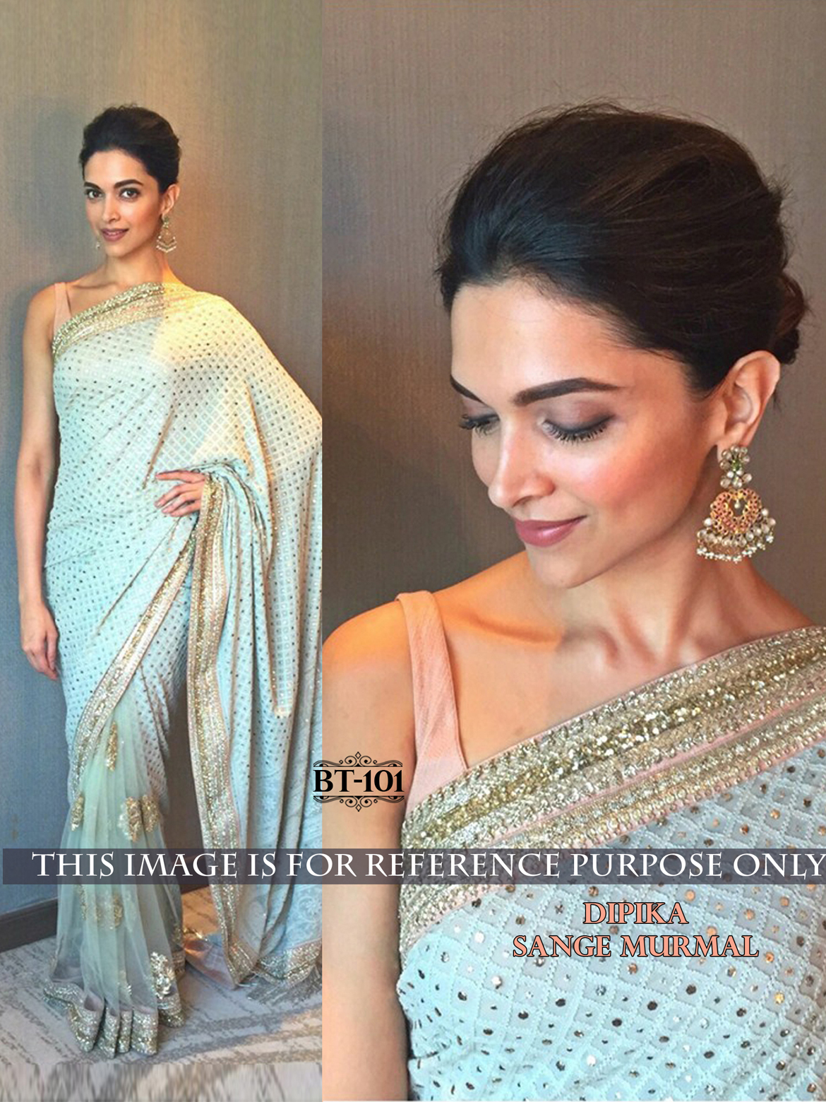 Deepika Padukone in Latest Sarees, Buy Deepika Hot Navel Saree Online
