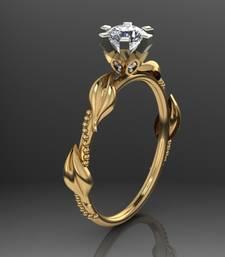 Buy Yellow cubic zirconia rings Ring online