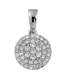 Buy 0.22ct Gold pendant with diamonds for Women gemstone-pendant online