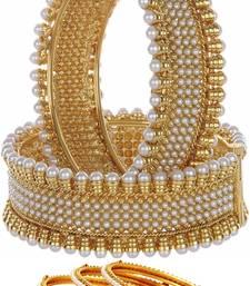 Buy Multicolor pearl bangles-and-bracelets bangles-and-bracelet online