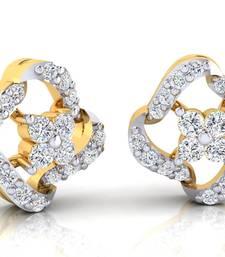 Buy 0.246ct Yellow Diamond gemstone-earrings gemstone-earring online