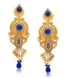 Buy Fabulous Gold Plated Dangle Earring For Women danglers-drop online