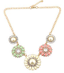 "Buy ""Bohemian Style ""Multicolor Necklace For Womens collar-necklace online"