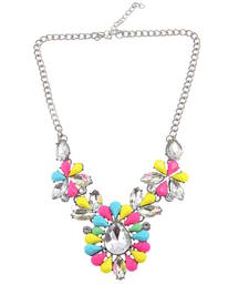 "Buy ""Look Like A Dia"" Statement Necklace  For Women's collar-necklace online"