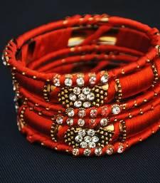 Buy Beautiful Perfect for wedding orange bangles bangles-and-bracelet online