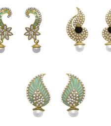 Buy Multicolor diamond earrings combo-earring online