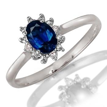 0.05ct diamond white gold ring