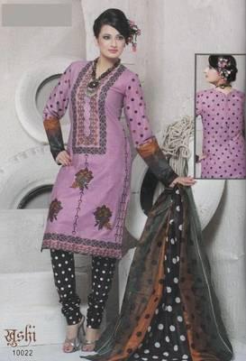 Dress Material Cotton Designer Prints Unstitched Salwar Kameez Suit D.No 10022