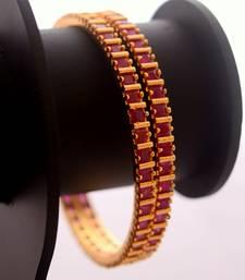 Buy Ruby bangles bangles-and-bracelet online