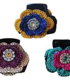 Buy Multicolor crystal stone brooch brooch online