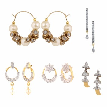 Multicolor combo of Earring for Girls and Women