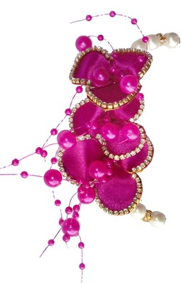 Beautiful & Fancy hair Flower Accessories Brooch with wedding party wear