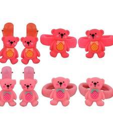 Buy 8 Tic Tac Hair Clips Pink Dailywear Schoolwear hair-accessory online