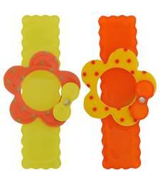 Buy 2 Tic Tac Hair Clips Yellow Orange Dailywear Schoolwear hair-accessory online