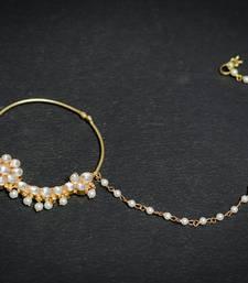 Buy  Kundan bridal nose ring fashion-deal online