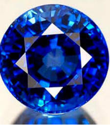 Buy 8.25 carat natural blue shappire (neelam) gemstone with lab certified loose-gemstone online