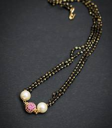 Buy Ad pearl mangal sutra mangalsutra online