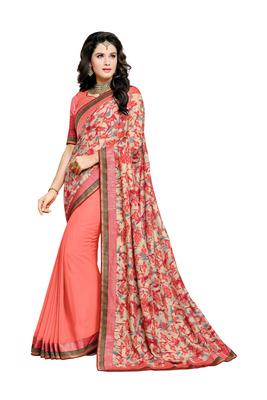 Multicolor Manipuri Prints Saree With blouse