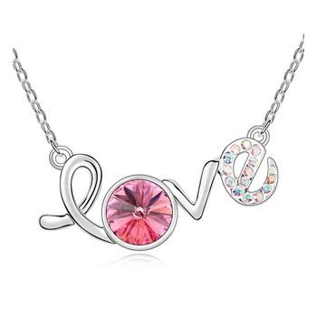 Multicolor swarovski crystal pendants