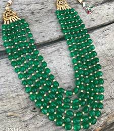 Buy rajwara jaipuri royal necklace Necklace online