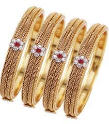 Buy Maroon diamond bangles-and-bracelets bangles-and-bracelet online