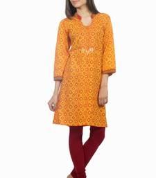 Buy Dorabella Women's Designer Cotton Kurti  [N1207A] kurtis-below-400 online