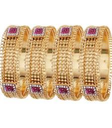 Buy Pink diamond bangles-and-bracelets bangles-and-bracelet online