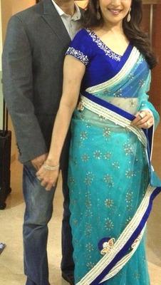 Madhuri WIth nene