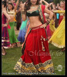 Buy YPD RED  LAHENGA bollywood-lehenga online