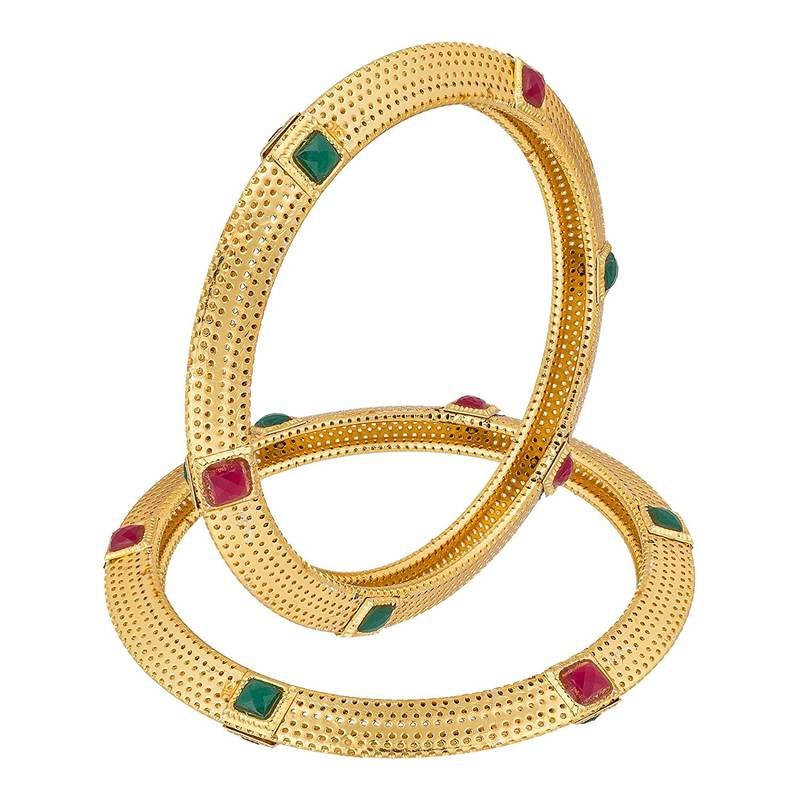 featuring shape bangles in pearls bangle pair nisa square unique jewelry india encrusted pearl online beautiful nisapearl shopping design moti